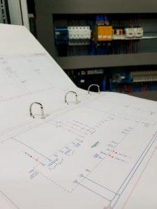 esquema eléctrico sistema automata programable
