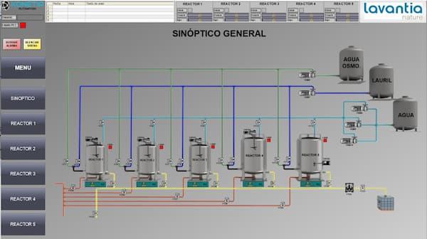 Sistemas scada para la industria quimica