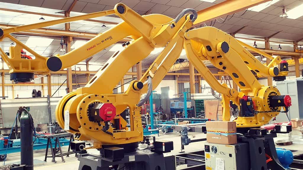 la robótica en la industria cerámica