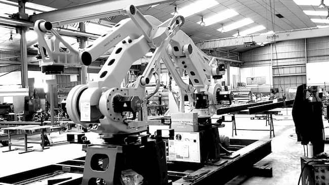 que es la robotica industrial